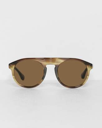 Dries Van Noten Swirl Horn Shade Sunglasses