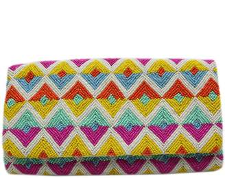 Tiana Designs Tiana Foldover Colorful Clutch