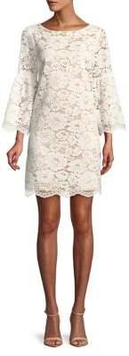 Vince Camuto Floral Lace Sheath Dress