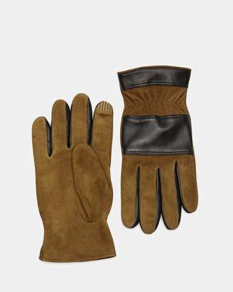 Theory Suede Downtown Glove