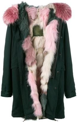 Mr & Mrs Italy fur lined hooded parka $7,350 thestylecure.com