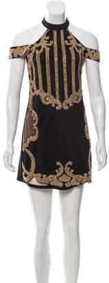 NBD X By Embellished Mini Dress