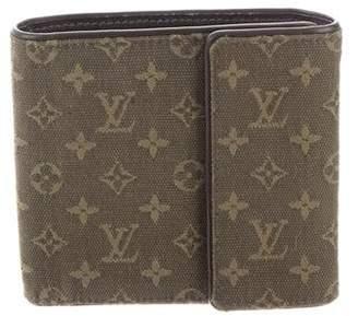 Louis Vuitton Mini Lin Elise Wallet
