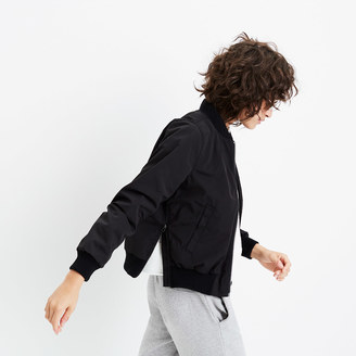 Side-Zip Bomber Jacket $128 thestylecure.com