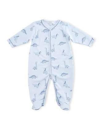 Kissy Kissy Dino Daze Printed Footie Pajamas, Blue, Size Newborn-12 Months $40 thestylecure.com