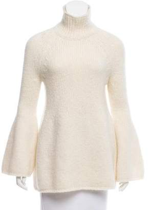 Rosetta Getty Alpaca Turtleneck Sweater
