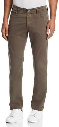 AG Jeans Graduate Straight Slim Jeans in Grey Sand