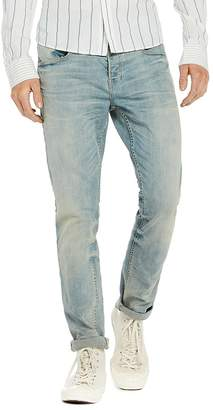 Scotch & Soda Skim Plus Slim Fit Jeans in Blue Gold