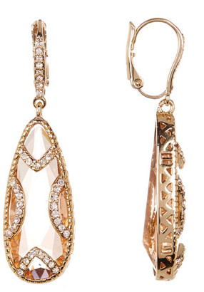 Jenny Packham Crystal Teardrop Earrings $60 thestylecure.com