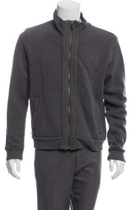 Dolce & Gabbana Wool Zip-Up Jacket