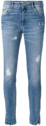 HTC Los Angeles distressed skinny jeans