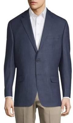 Ralph Lauren Neat Slim-Fit Silk-Wool Sports Jacket