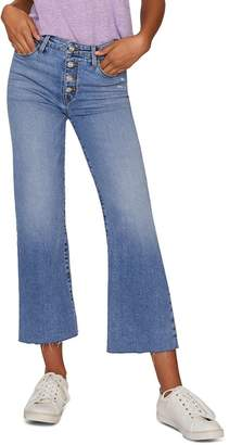 71585cd5 Sanctuary Non-Conformist Wide-Leg Cropped Jeans in Zuma Beach Blue