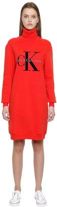 True Icon Cotton Sweatshirt Dress $160 thestylecure.com