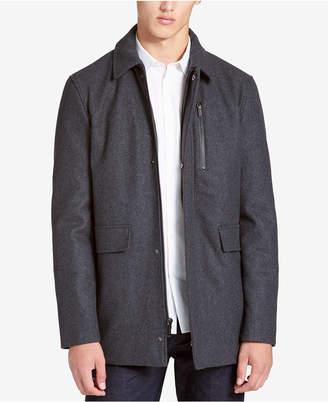 Calvin Klein Men's Big & Tall Wool-Blend Jacket