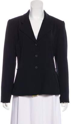 Halston Structured Button-Up Blazer