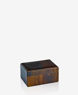 GiGi New York Small Box Sandalwood Leather
