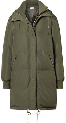 Oasis All Access Hooded Shell Down Jacket - Army green