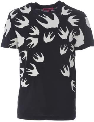 McQ Birds Print T-shirt