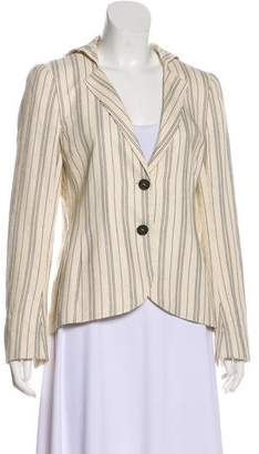 Akris Fitted Striped Blazer