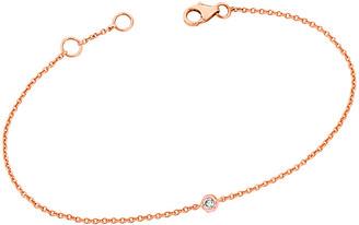 Ariana Rabbani 14K Rose Gold Diamond Solitaire Bracelet