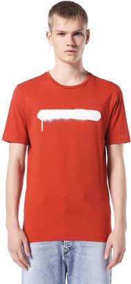 Diesel Black Gold Diesel T-Shirts BGTKA - Red - L