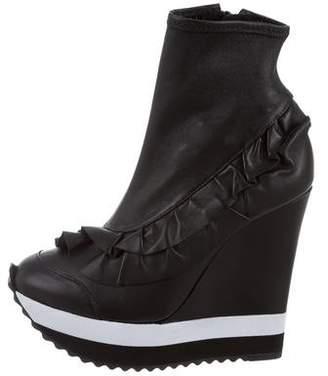 Ruthie Davis Grace Platform Wedge Boots