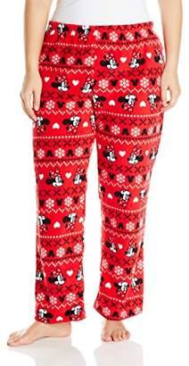 Disney Women's Ladies Plush Pants Minnie Plus $15.68 thestylecure.com