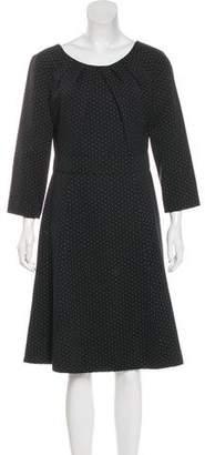 Armani Collezioni Jacquard Midi Dress w/ Tags