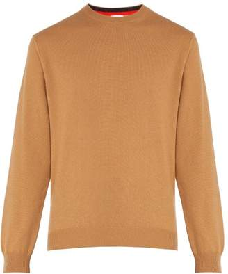 Paul Smith - Crew Neck Cashmere Sweater - Mens - Camel