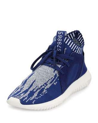 Adidas Tubular Defiant Primeknit Trainer, Unity Ink $130 thestylecure.com