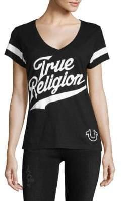 True Religion Logo Cotton Tee