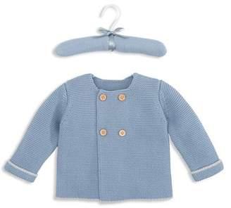 Elegant Baby Boys' Sofia & Finn Double-Breasted Cardigan - Baby