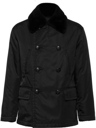 Prada double-breasted peacoat