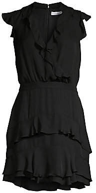 Parker Women's Tangia Ruffle Dress - Size 0