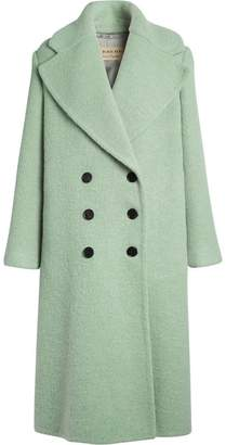 Burberry Double-faced Wool Alpaca Blend Cocoon Coat