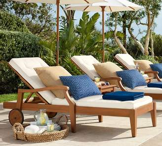 At Pottery Barn · Pottery Barn Chaise Frame