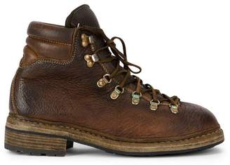 Guidi eyelet lace-up boots