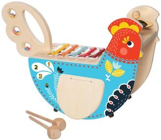 Manhattan Toy Wood Chicken Musical Instrument