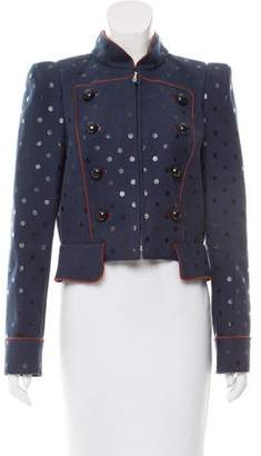 Marc Jacobs Polk Dot Wool Jacket w/ Tags