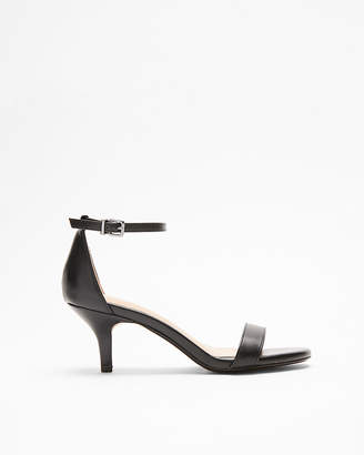 Express Kitten Heel Sandals