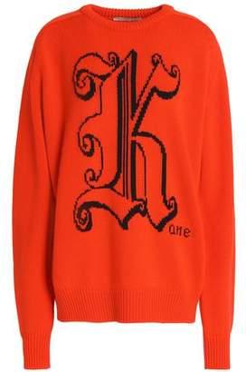 Christopher Kane Intarsia Wool Sweater
