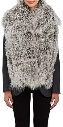 Barneys New York Women's Mongolian Fur Scarf