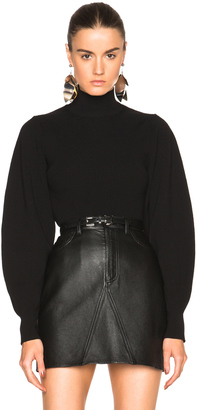 Mugler Exaggerated Volume Sweater $1,190 thestylecure.com
