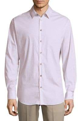 Giorgio Armani Point Collar Button-Down Shirt