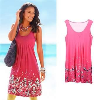 ItsyourturnR Sexy Women Summer Casual Sleeveless Evening Party Beach Dress Long Dress