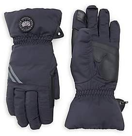 Canada Goose Men's Hybridge Touch-Screen Down-Fill Gloves