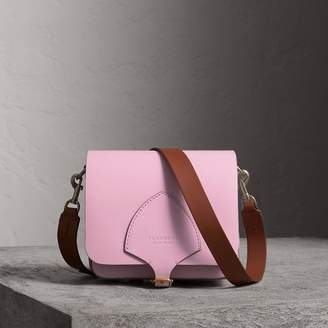 Burberry The Square Satchel in Leather