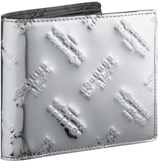 Maison Margiela Metallic Leather Bifold Wallet