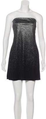 Versus Strapless Mini Dress